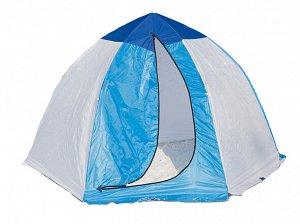 Палатка зимняя Стэк Классик (4-местная, бело-синяя)