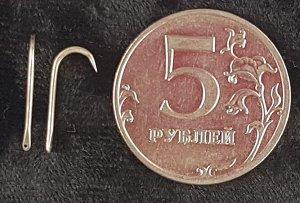 Блесна Стрела Махалочная B (серебро)