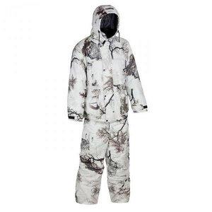 Костюм зимний Huntsman Буран-М -30*С (56-58р, белый лес (кусты), тк.Алова мембранная)