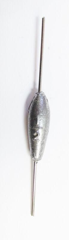 Грузило зимнее Морковка №1 (28гр, проволока)
