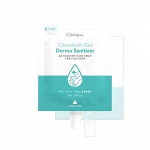 Cellapy Антисептик для рук Cleantech Gel Derma Sanitizer 25 мл