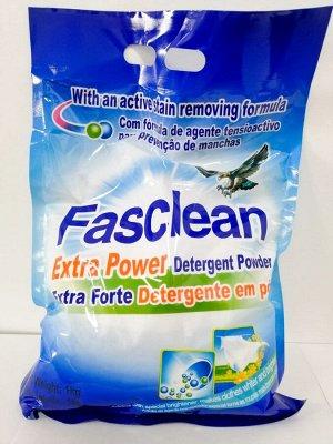 Концентрированный стиральный порошок Fasclean 1кг