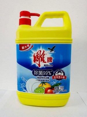 Средство для мытья посуды DIAO с ароматом лимона 2л