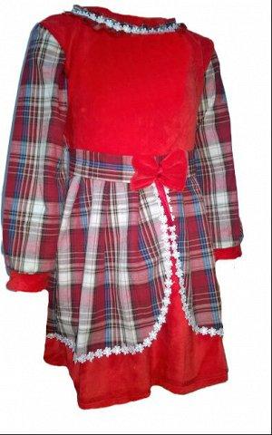 Таня шотландка платье детское