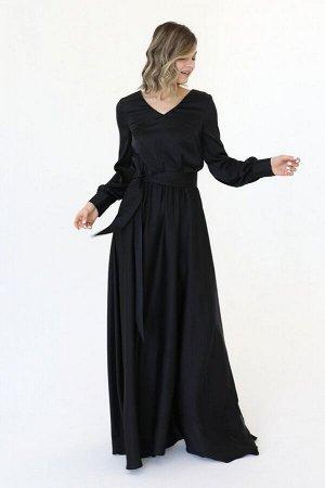 Платье макси из искусственного шелка, 01.077.12.363