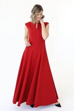 Платье макси с вырезом на линии груди, 01.078.12.137