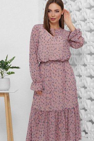 Платье 1860 сливовый