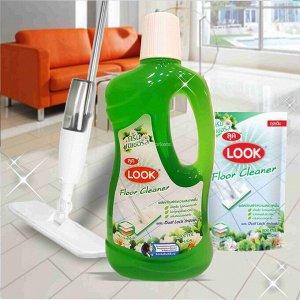 """LION """"Look"""" Средство для мытья пола """"Пыль на замок"""" 1000мл """"Луговые цветы"""""""