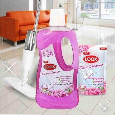 """50 ХИТОВ!!Любимая Япония, Корея Тайланд. Повтор по просьбам. — LION Look - Средство для мытья пола """"Пыль на замок"""" — Для мытья полов"""