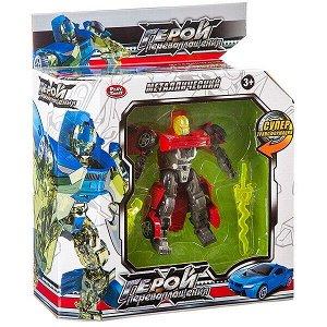 Трансформер мет. машина-робот, Герой перевоплощения Play Smart, ВОХ 32,5х12х5 см, арт. 8175.