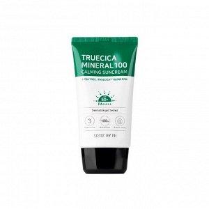 Some By Mi Truecica Mineral 100 Calming Suncream - Успокаивающий солнцезащитный крем 50мл