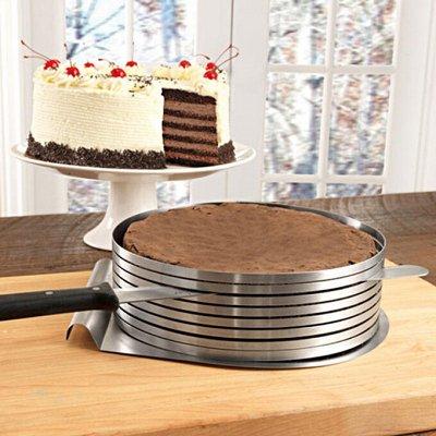 Удобная кухня💥 Сковородки AMERCOOK💥 Спецпредложение% — Форма для торта разъемная — Кухня
