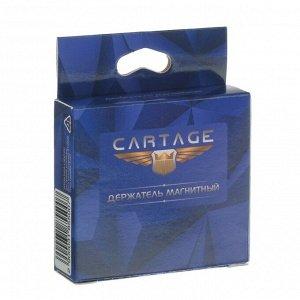 Держатель телефона Cartage, магнитный на клейкой основе, черный