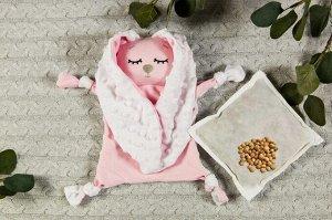 Подушка (комфортер - грелка) AmaroBaby Cherry Love розовый, 25*30см