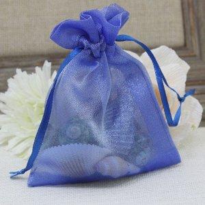 Подарочный мешочек (10,5*8,5см) Синий