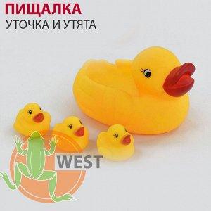 """Пищалка """"Уточка и утята"""" для ванной"""