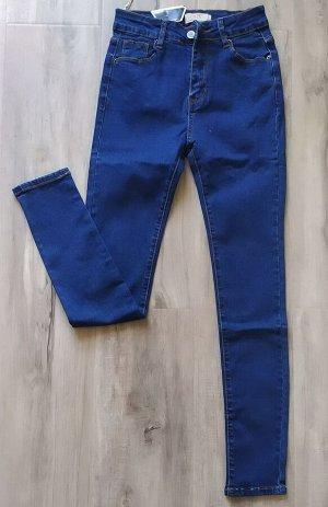 Женские джинсы из стрейч-денима. Цвет синий