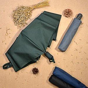Зонт мужской, автомат, сплав, пластик, полиэстер, длина 55см, 8спиц, 4-6 цветов,3026S-1✅