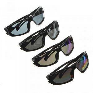 Очки солнцезащитные детские, пластик, 15,5х4см, 3-4 цвета, YK803A2