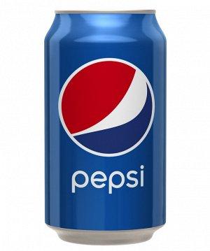 Напиток сильногазированный Pepsi-Cola 0.33л Банка