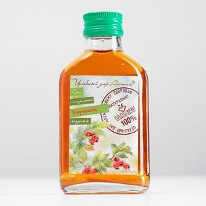 Сироп натуральный ягодный «Боярышник» Целебный Дар Алтая, флакон, 100 мл
