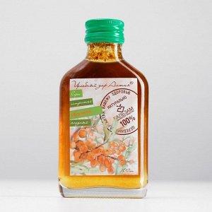 Сироп натуральный ягодный «Облепиха» Целебный Дар Алтая, флакон 100 мл