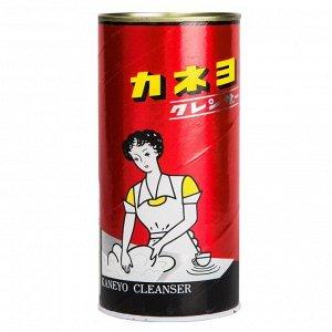 210025 KANEYO Red Cleanser Порошок чистящий для кухни и ванной комнаты 400 г/24