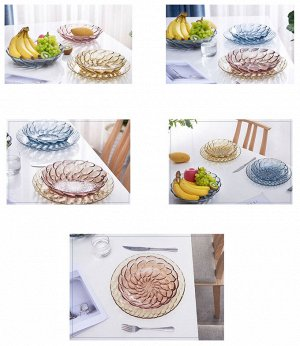 Тарелка для фруктов 2167 розовый