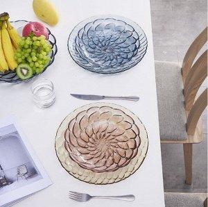 Тарелка для фруктов 2167 карамельный
