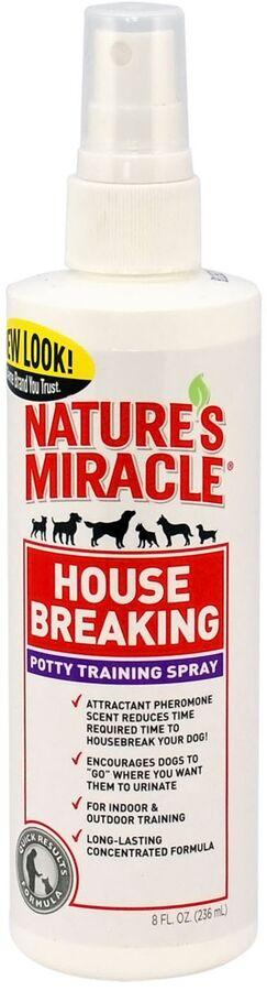 8in1 средство для приучение к туалету щенков и собак NM House-Breaking спрей 237 мл