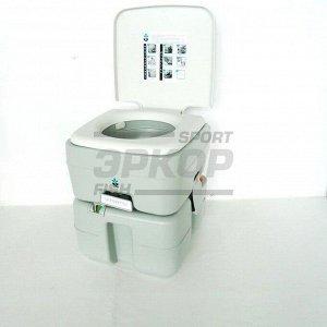 Биотуалет Sendo Classic PT верх бак 12 л ниж бак 20 л индикатор насос поршень разм 42х40х35 см