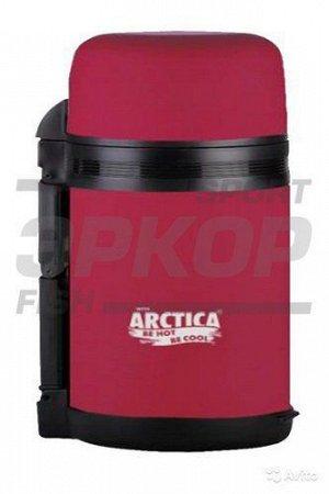 Термос Арктика широкое горло 800 мл резиновое покрытие (х2)