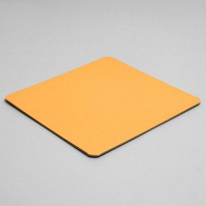Подложка усиленная, 26 х 26 см, золото-жемчуг, 3,2 мм