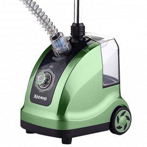 Отпариватель электрический 1800 Вт, 1,4 л ЯРОМИР ЯР-5000 зеленый с черным