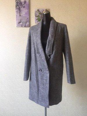 Пальто женское демисезонное, цвет серый