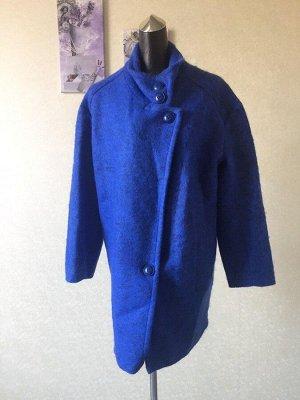 Женское пальто со спущенным плечом, размер OVERSIZE