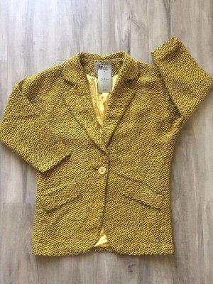 Стильное женское полупальто-пиджак OVERSIZE