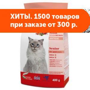 Forza10 Cat MR Fruit Rosso Senior сухой корм для пожилых  кошек 0,4кг