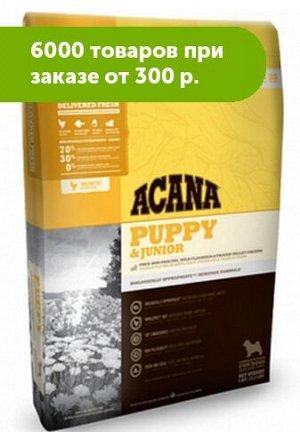Acana Puppy and Junior сухой корм для щенков всех пород 0,34кг