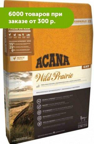 Acana Wild Prairie сухой корм для кошек с Цыпленком и Рыбой 1,8кг