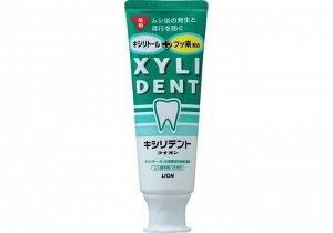 """762522 """"Lion"""" """"Xyli Dent"""" Зубная паста с фтором для укрепления зубной эмали (туба) 120гр. 1/60"""