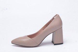 Туфли женские бежевые
