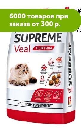 Зоогурман сухой корм для кошек Телятина1,5 кг