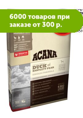 Acana Duck and Bartlett pear сухой корм для собак всех пород Утка с грушей 2кг