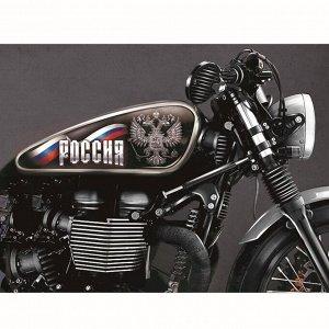 Набор наклеек на мотоцикл «Россия», 2 шт