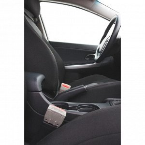 Заглушка ремня безопасности, серый, набор 2 шт