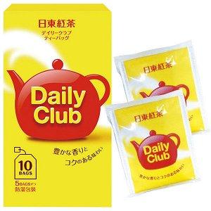 """Чай черный  """"Дэйли Клаб""""  (10 фильтр-пакетов.)  22 гр. 1/120 Япония"""