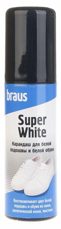 Карандаш для белой обуви и подошвы Braus 3301