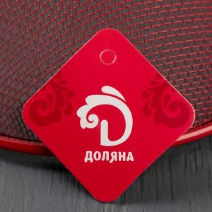 Сито-корзинка Доляна «2 в 1», d=21 см, цвет МИКС