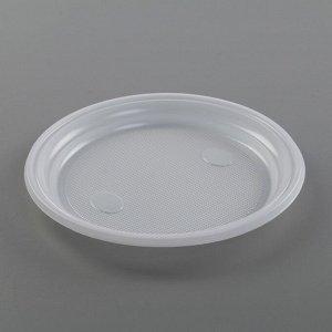 Набор одноразовой посуды «Шашлычный №1», 6 персон, цвет белый, чёрный